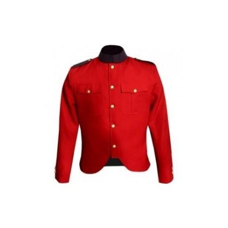 WW1 Khaki Canadian Force Style Cutaway Tunic