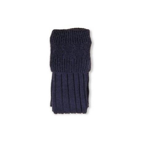 Navy Blue Pipe Band Full Socks