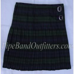 Piper Drummer Black Watch Wool Tartan Kilt