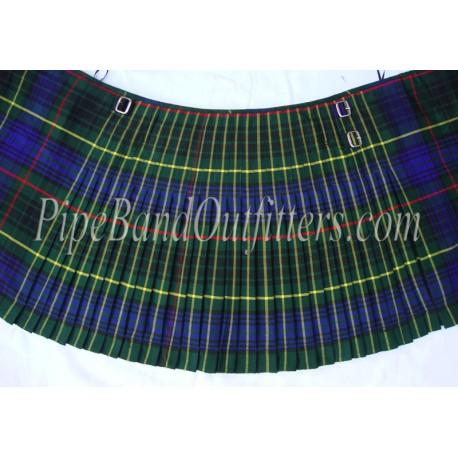 Piper Drummer Wool Tartan Kilt