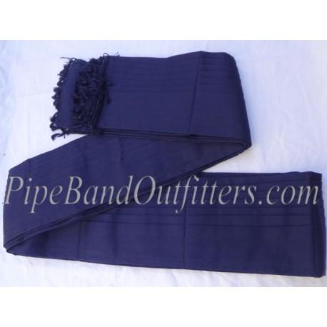 Blue Cotton Plaid