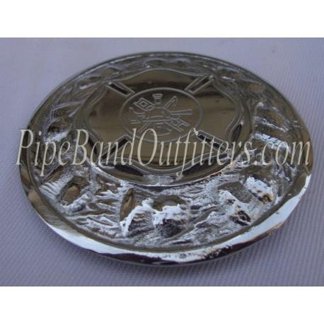 Custom Made Plaid Brooch