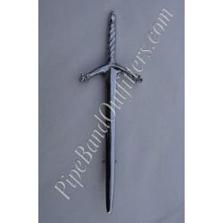 Sword Kilt Pin - Crome