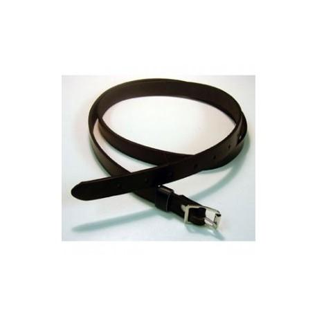 Black Leather Sporran Strap
