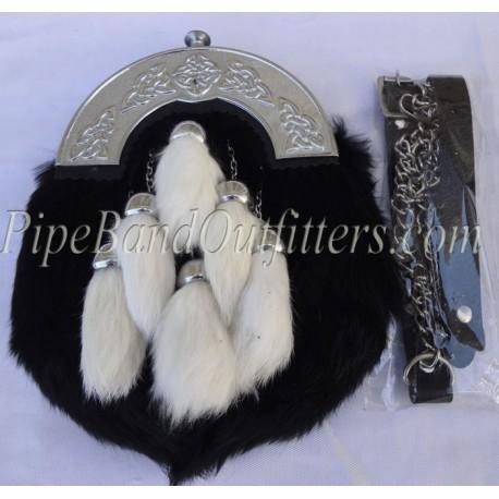 Piper Dress - Rabbit Hair Sporran