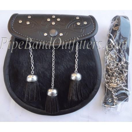Piper Black Dress Sporran