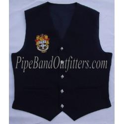Custom Made Royal Blue Waistcoat