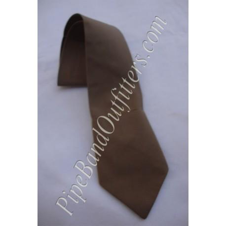 Khaki Cotton Tie