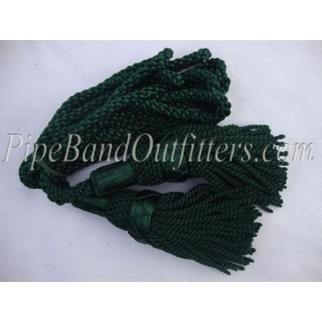 Green Bagpipe Silk Cord