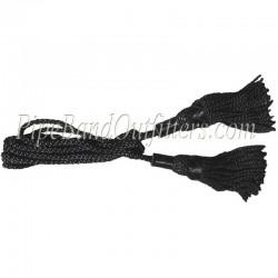 Black Bagpipe Silk Cord