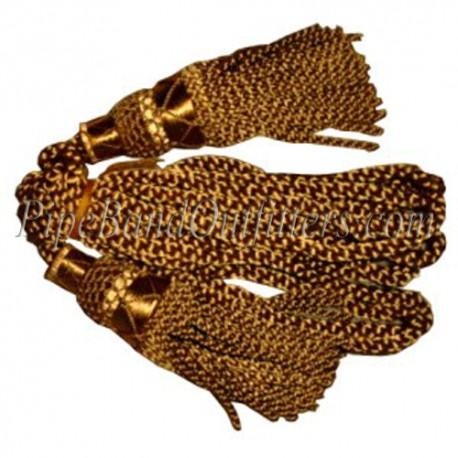 Golden Bagpipe Silk Cord
