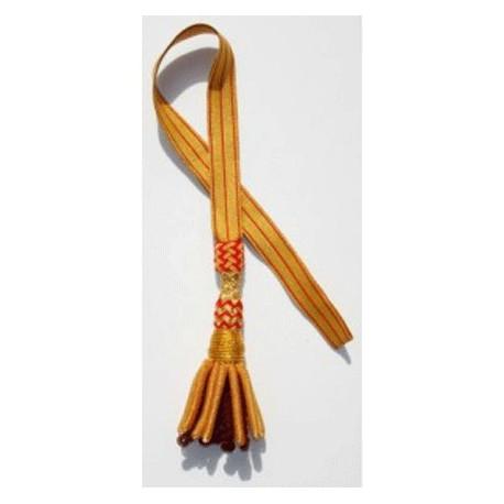 Sword Knot in Black & Gold