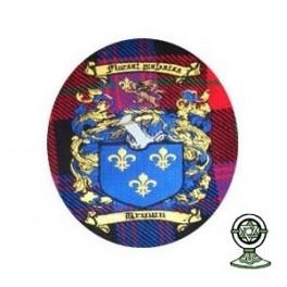 Machine Embroidered Cap Badge