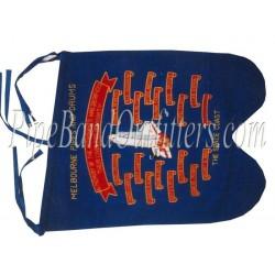 Custom Made Pipe Band Royal Blue Banner