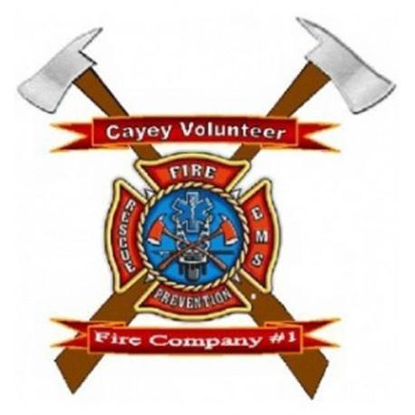 Firefighter Badge - Cayey Volunteer