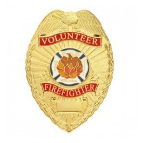Firefighter Badge - Volunteer