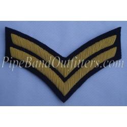 Corporal Stripes Badge