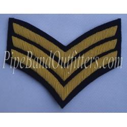 Sargeant Stripes Badge