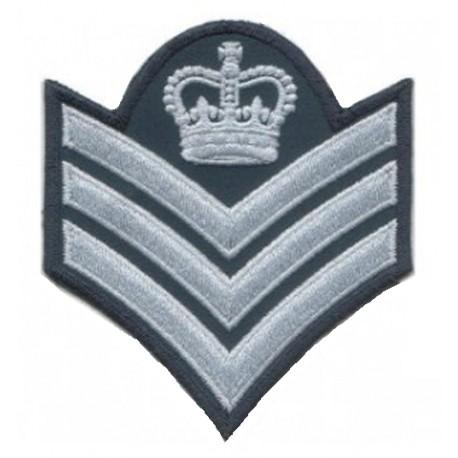 Sergeant Stripes Badge - Crown