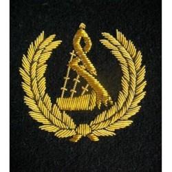 Bagpipe Badge