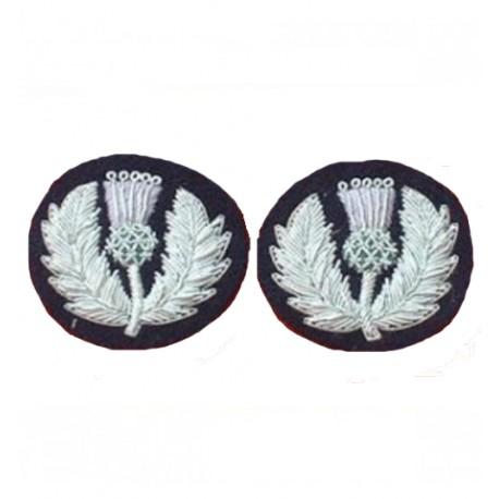 Scots Guard Mess Dress Collar Badge
