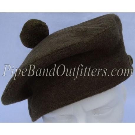 Khaki Tam O'Shanter Pipers Uniform Balmoral